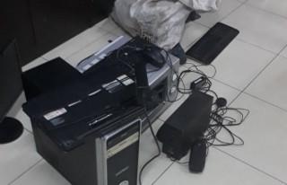 Fırın ve bilgisayar hırsızları yakalandı