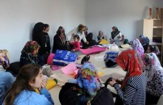Kahramanmaraş'ta keçe tasarım kursu