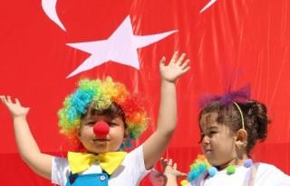 Kahramanmaraş'ta 23 Nisan kutlaması