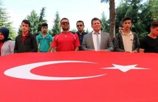 Kahramanmaraş'ta 57'nci Alay şehitlerine vefa...