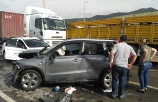 Kahramanmaraş'taki kazada ölü sayısı 2'ye...