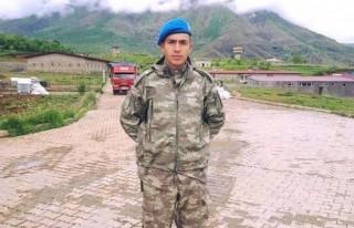 Gata'da tedavi gören Kahramanmaraşlı asker Şehit...
