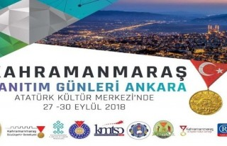 Ankara'da 3. Kahramanmaraş Tanıtım Günleri