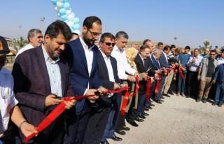 Türkoğlu Belediyesi mahalleyi spor kompleksine çevirdi
