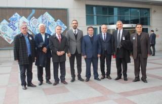 Milletvekili Özdemir, KMBGC heyetini ağırladı