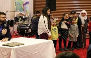 Çocuklardan müzikal gösteri
