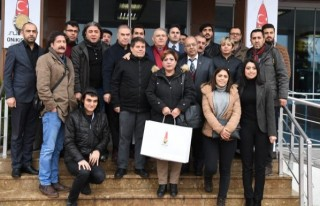 Başkan Mahçiçek, Gazeteciler Günü'nü Kutladı