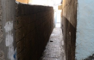 Türkiye'nin en dar sokağı Kahramanmaraş'ta