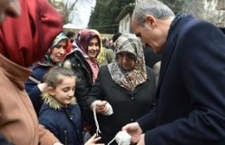 Kahramanmaraş Dulkadiroğlu'ndan 50 bin adet...