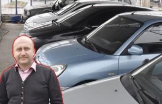 Kahramanmaraş'ta ikinci el otomobil piyasası...