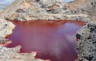 Kahramanmaraş'ta kızıl gölet bakın ne hale...