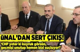 AK Partili Ünal: CHP yeter ki kuyruk görsün Geçmişi...