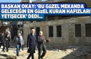 Başkan Okay: 'Bu güzel mekanda geleceğin en...