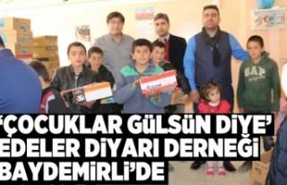 'ÇOCUKLAR GÜLSÜN DİYE' Edeler Diyarı...