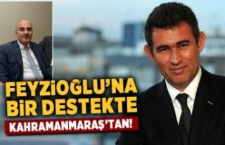 Feyzioğlu'na bir destekte Kahramanmaraş'tan!