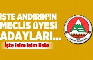 İşte Kahramanmaraş Andırın Belediyesi'nin...