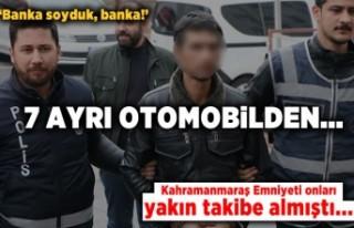Kahramanmaraş'ta akü hırsızlarına tutuklama...