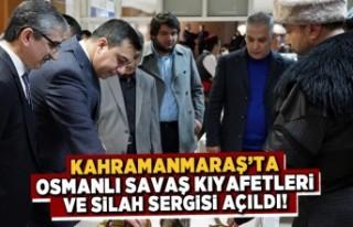Kahramanmaraş'ta bu sergi buram buram tarih...