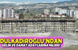 Kahramanmaraş'ta Dulkadiroğlu'ndan gelin...