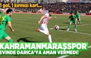 Kahramanmaraşspor-Darıca Gençlerbirliği maç sonucu...