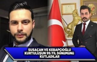 Susaçan ve Kepabçıoğlu Kahramanmaraş'ın...