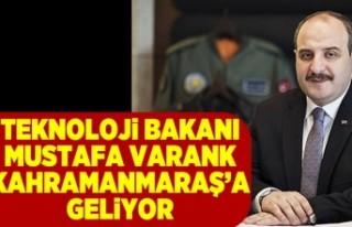 VARANK KAHRAMANMARAŞ'A GELİYOR