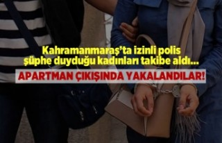 Kahramanmaraş'ta izinli polis hırsızları apartman...