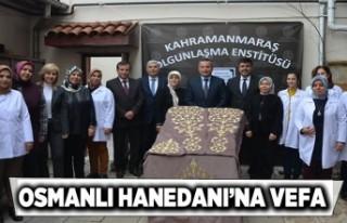 Kahramanmaraş'ta Osmanlı Hanedanı'na...