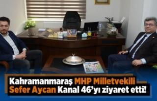 Sefer Aycan Kanal46'yı ziyaret etti!