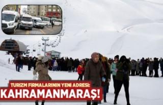 Turizm firmalarının yeni adresi: Kahramanmaraş!