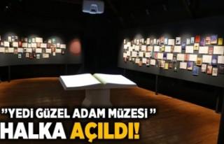 """""""Yedi güzel adam edebiyat müzesi"""" halka..."""