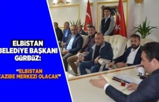 """Elbistan Belediye Başkanı Gürbüz: """"Elbistan..."""
