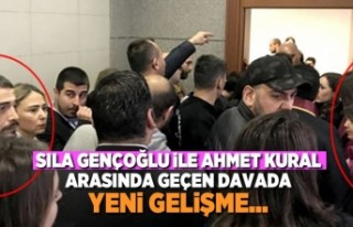 Sıla Gençoğlu ile Ahmet Kural arasında geçen...