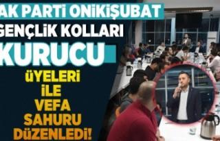 AK Parti Onikişubat Gençlik Kolları Kurucu Üyeleri...