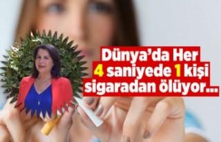 Dünya'da her 4 saniyede 1 kişi sigaradan ölüyor!