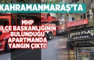 Kahramanmaraş'ta MHP İlçe Başkanlığının...