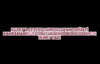 Kuzey İlçeleri Daire Başkanı Halis Yiğitoğlu...
