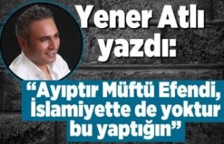 Yener Atlı yazdı: ''AYIPTIR MÜFTÜ EFENDİ,...