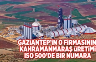 gaziantepl'li o firma Kahramanmaraş'ta...