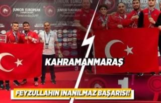 Kahramanmaraş Feyzullah'ın inanılmaz başarısı!