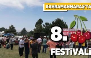Kahramanmaraş'ta 8. kiraz festivali