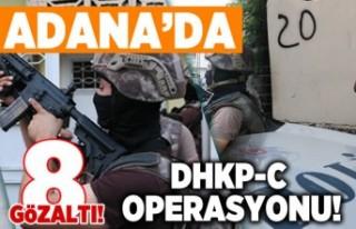 DHKP-C operasyonu! 8 gözaltı var!
