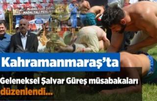 Kahramanmaraş'ta Geleneksel Şalvar Müsabakaları...