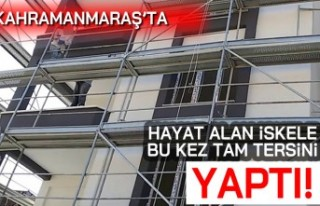 Kahramanmaraş'ta hayat alan iskele bu kez tam...