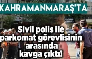 Kahramanmaraş'ta Polise çirkin saldırı!