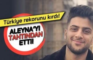Türkiye rekorunu kırdı! Aleyna'yı tahtından...