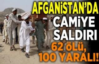 Afganistan'da camiye saldırı... 62 ölü ve...