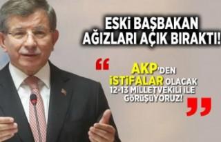 Eski Başbakan ağızları açık bıraktı! ''AKP'den...