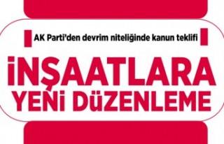 AK Parti'de devrim niteliğinde kanun teklifi!...