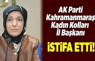 AK PARTİ KAHRAMANMARAŞ İL KADIN KOLLARI BAŞKANI...